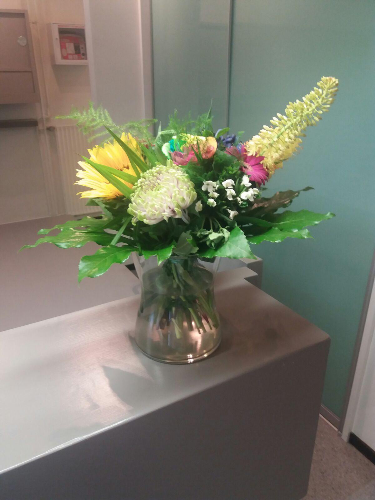 bloemen balie
